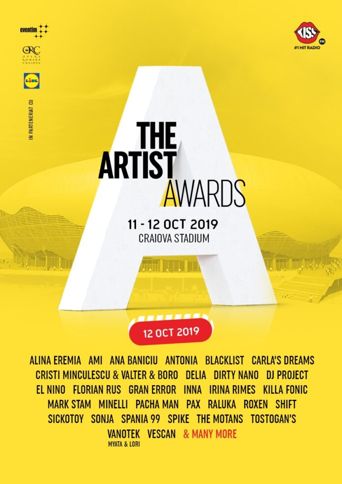The Artist Awards 12th of October