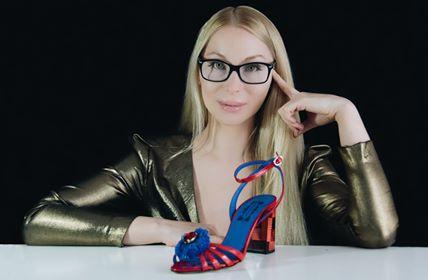 creatoarea de pantofi viorica del prado